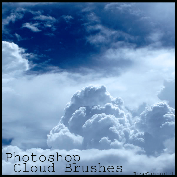 Cloud Brushes by RoseCabriolet 30+ Free Photoshop Cloud Brushes