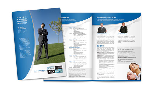FMRC Brochure Design 40 Inspirational Creative Brochure Designs