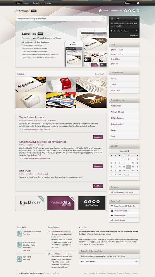 Storefront Pro 20 Best Ecommerce Themes for WordPress Website