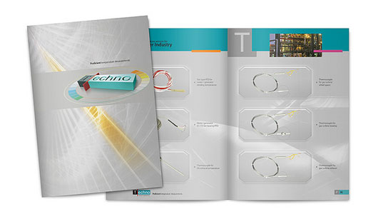 Techno Brochure Design 40 Inspirational Creative Brochure Designs