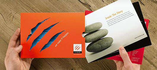 Toast Creative Brochure 40 Inspirational Creative Brochure Designs