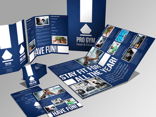 Trifold Brochure and Flyer Design 40 Inspirational Creative Brochure Designs