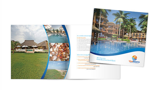 Vivo Resort Brochure Design 40 Inspirational Creative Brochure Designs