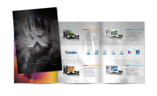 Xenon Brochure Design 40 Inspirational Creative Brochure Designs