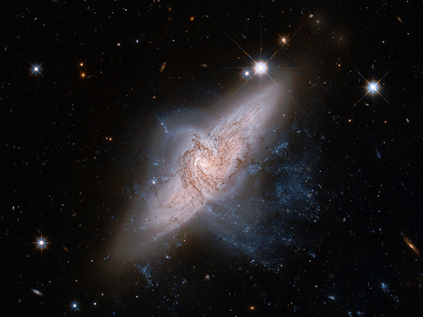 Juxtaposition Of Galaxies