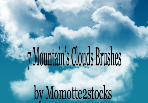 brushes 1   clouds brushes by momotte2stocks d33i879 e1361166923632 30+ Free Photoshop Cloud Brushes