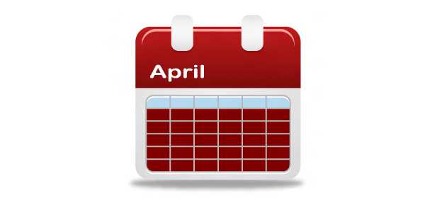 Red Month Calendar Icon