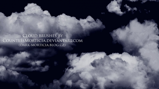 cloud brushes by countessmorticia d557gua e1362657344472 30+ Free Photoshop Cloud Brushes