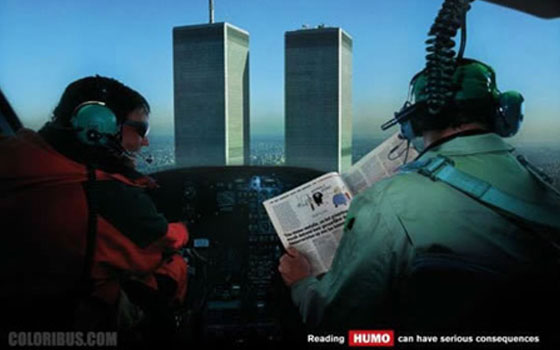 Reading Humo can have serious consequences