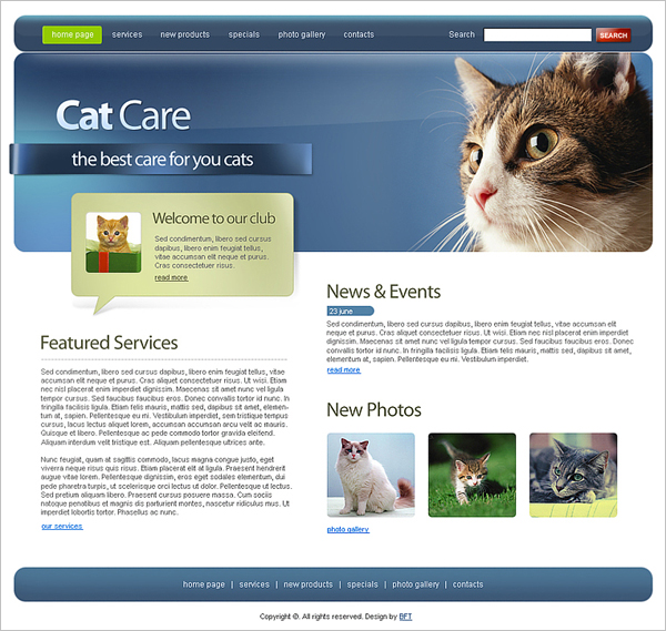 best free animal and pets templates