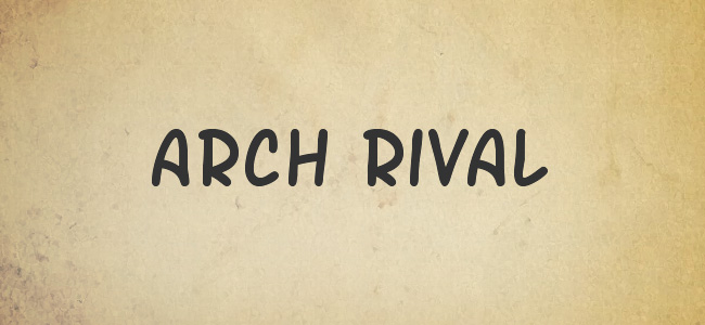 Arch Rival Free Handwritten Fonts