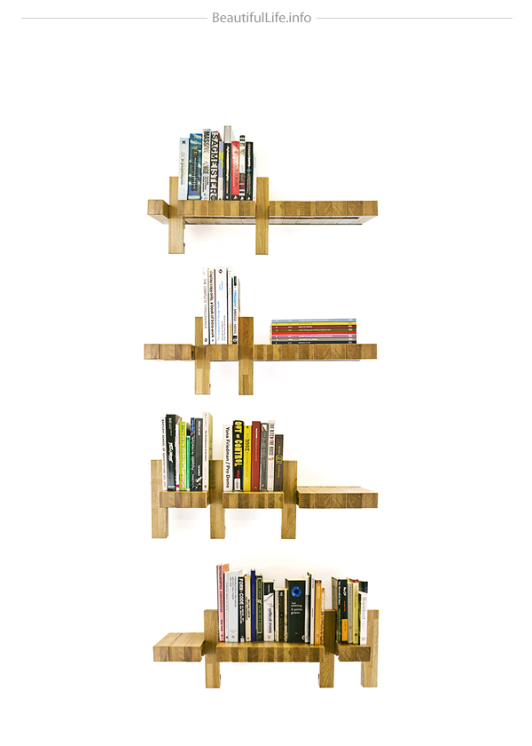 Fusillo multifunctional bookshelf
