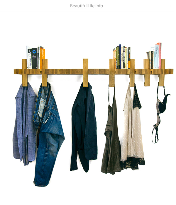 Fusillo multifunctional shelf