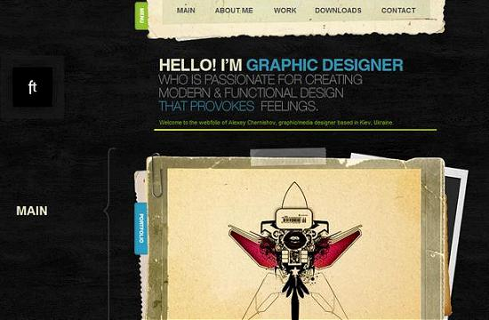 single page site 15 Outstanding and Creative Single Page Websites