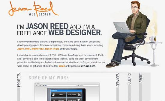 single page site 29 Outstanding and Creative Single Page Websites