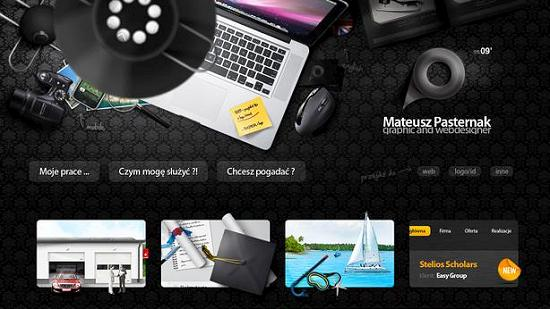 single page site 33 Outstanding and Creative Single Page Websites