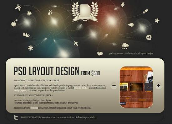 single page site 40 Outstanding and Creative Single Page Websites