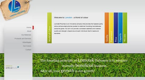 single page site 46 Outstanding and Creative Single Page Websites