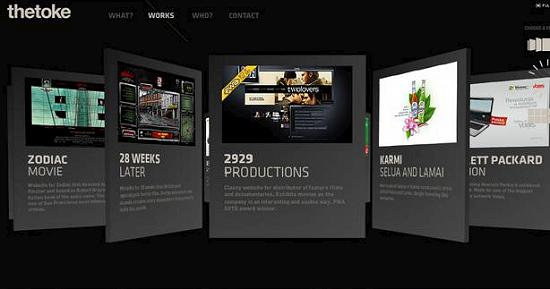 single page site 7 Outstanding and Creative Single Page Websites