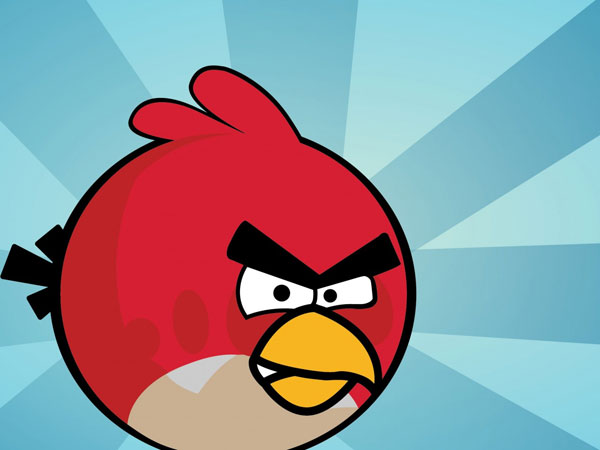 Angry Birds Bright Red