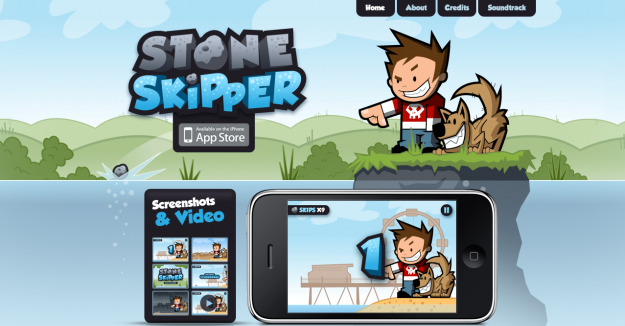 strongskipper e1270286594840 Attractive Websites for iPhone Applications