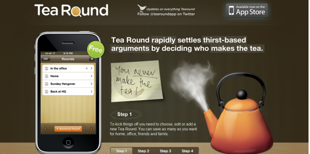 tearound e1270293512839 Attractive Websites for iPhone Applications