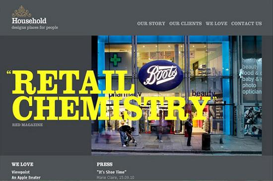 Big Typography 10 Splendid Examples of Usage of Big Fonts in Websites