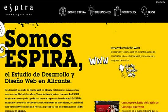 Big Typography 24 Splendid Examples of Usage of Big Fonts in Websites
