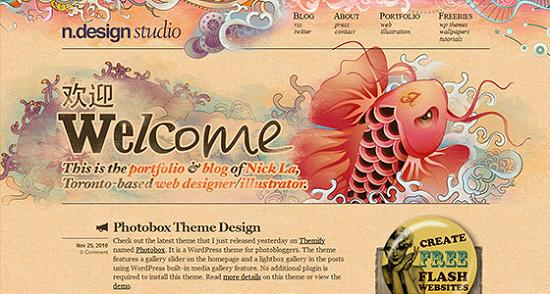 Big Typography 31 Splendid Examples of Usage of Big Fonts in Websites
