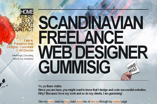 Big Typography 8 Splendid Examples of Usage of Big Fonts in Websites