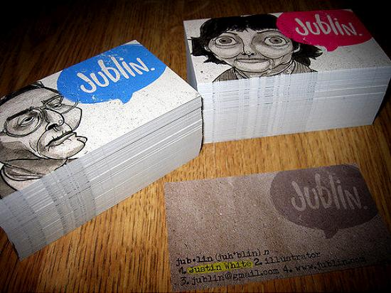 business cards 12 Awesome and Innovative Designs of Business Cards
