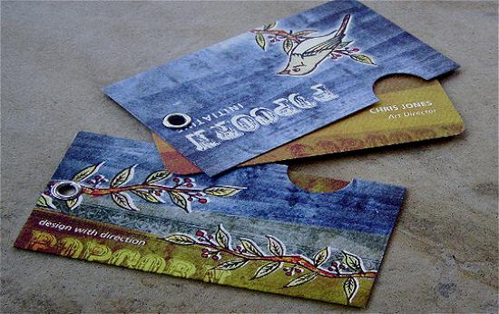 business cards 16 Awesome and Innovative Designs of Business Cards