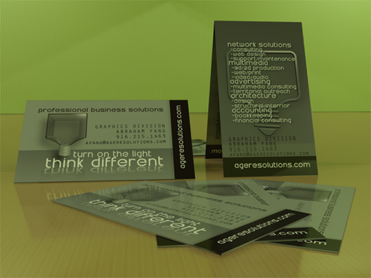 business cards 19 Awesome and Innovative Designs of Business Cards