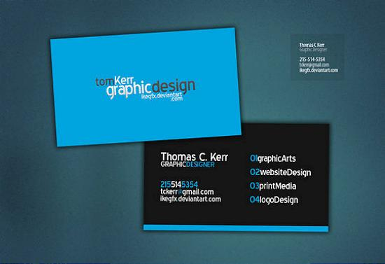 business cards 43 Awesome and Innovative Designs of Business Cards
