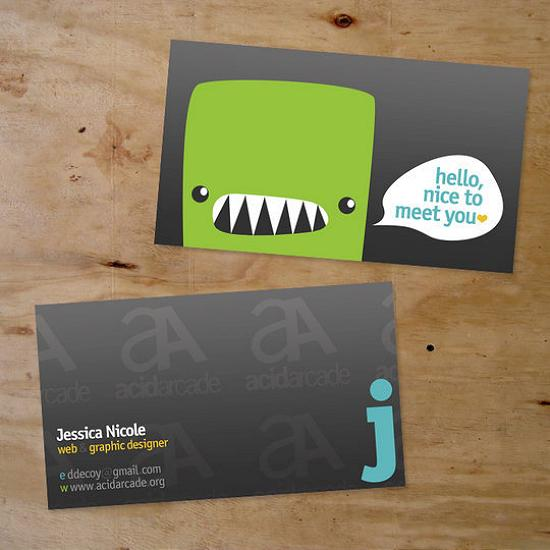 business cards 46 Awesome and Innovative Designs of Business Cards