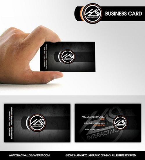 business cards 47 Awesome and Innovative Designs of Business Cards