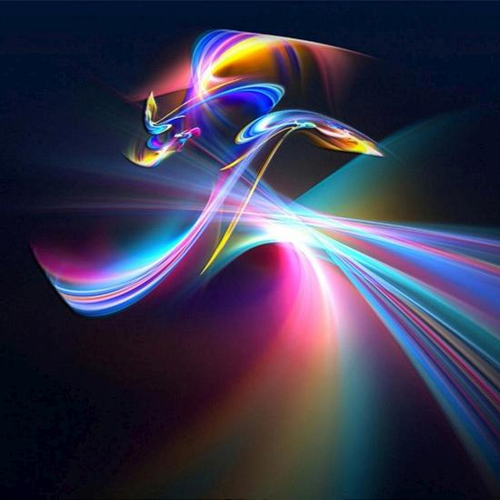 abstract swirls 2 Fresh Wallpapers Collection of Apple iPad