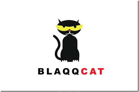 blaqqcat493x328 Latest Web2.0 Logo Designs for Designers