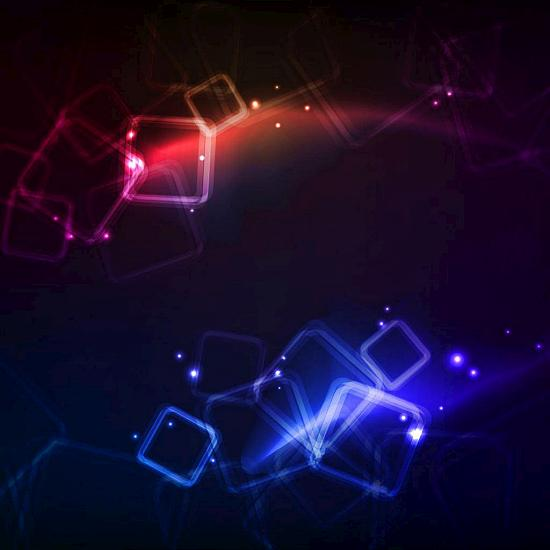 blue red cubes Fresh Wallpapers Collection of Apple iPad