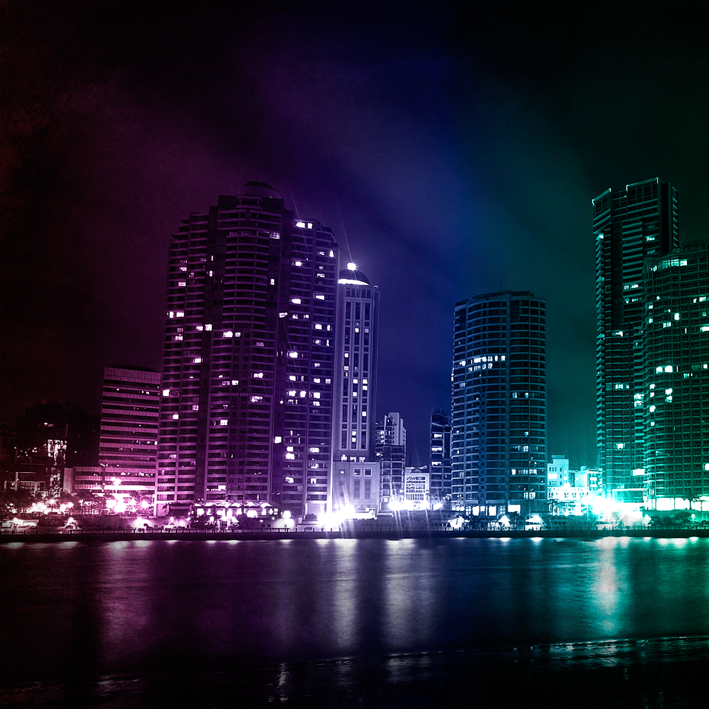colorful city Fresh Wallpapers Collection of Apple iPad