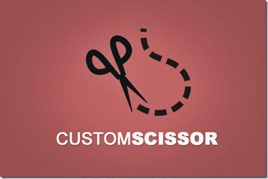 customscissor493x328 Latest Web2.0 Logo Designs for Designers