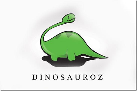 dinosauroz493x328 Latest Web2.0 Logo Designs for Designers