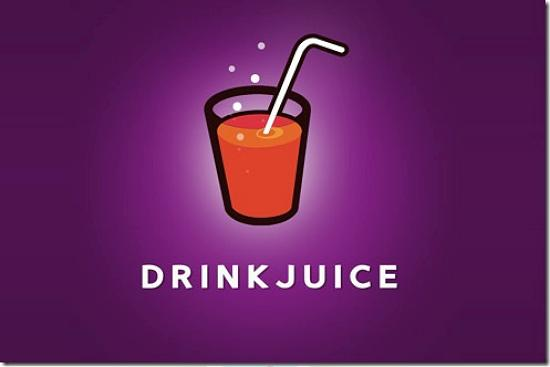 drinkjuice493x328 Latest Web2.0 Logo Designs for Designers