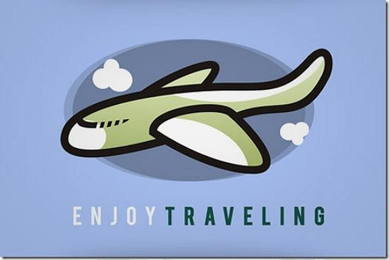 enjoytraveling493x328 Latest Web2.0 Logo Designs for Designers