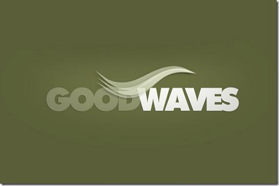 goodwaves493x328 Latest Web2.0 Logo Designs for Designers