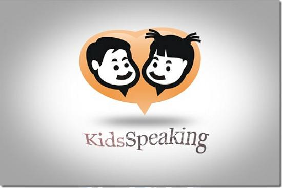 kidsspeaking493x328 Latest Web2.0 Logo Designs for Designers
