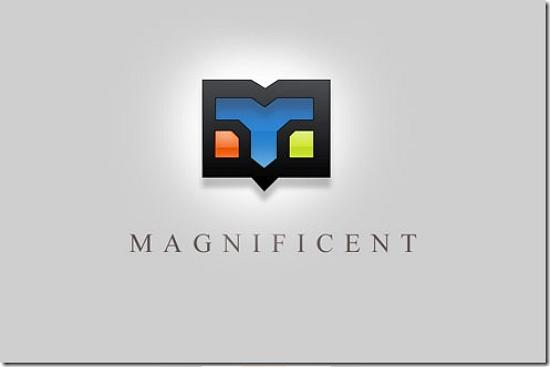 magnificent493x328 Latest Web2.0 Logo Designs for Designers