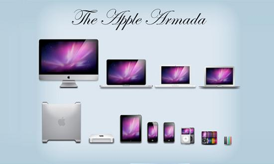 12 apple armada Free Collection of Apple Inspired Icons