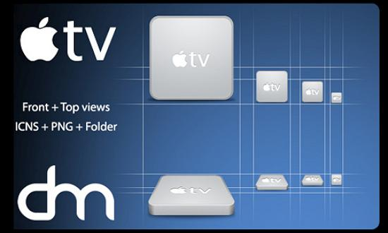 18 apple tv Free Collection of Apple Inspired Icons
