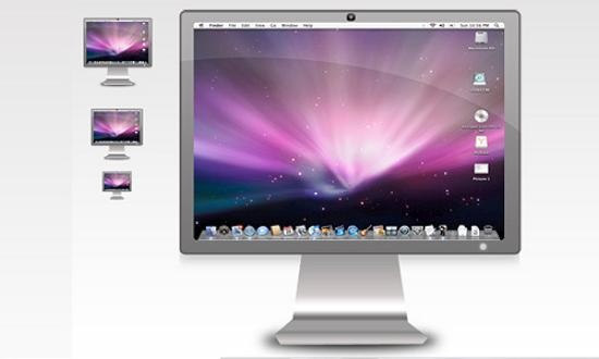31 apple cinema display Free Collection of Apple Inspired Icons